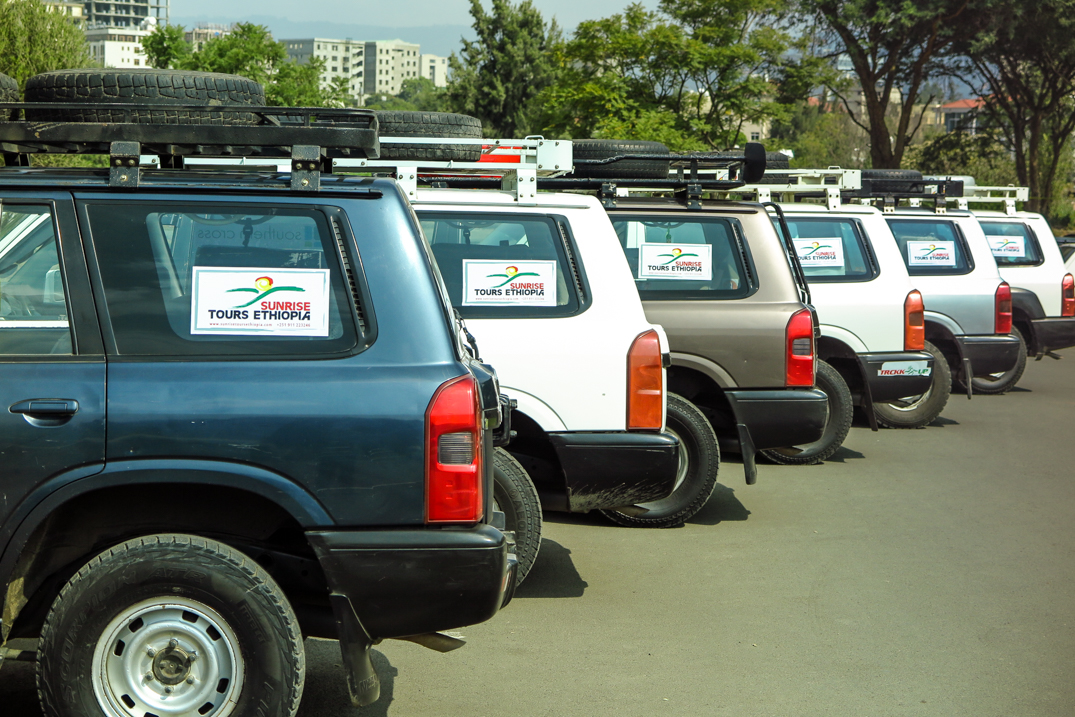 SUNRISE TOURS ETHIOPIA CARS