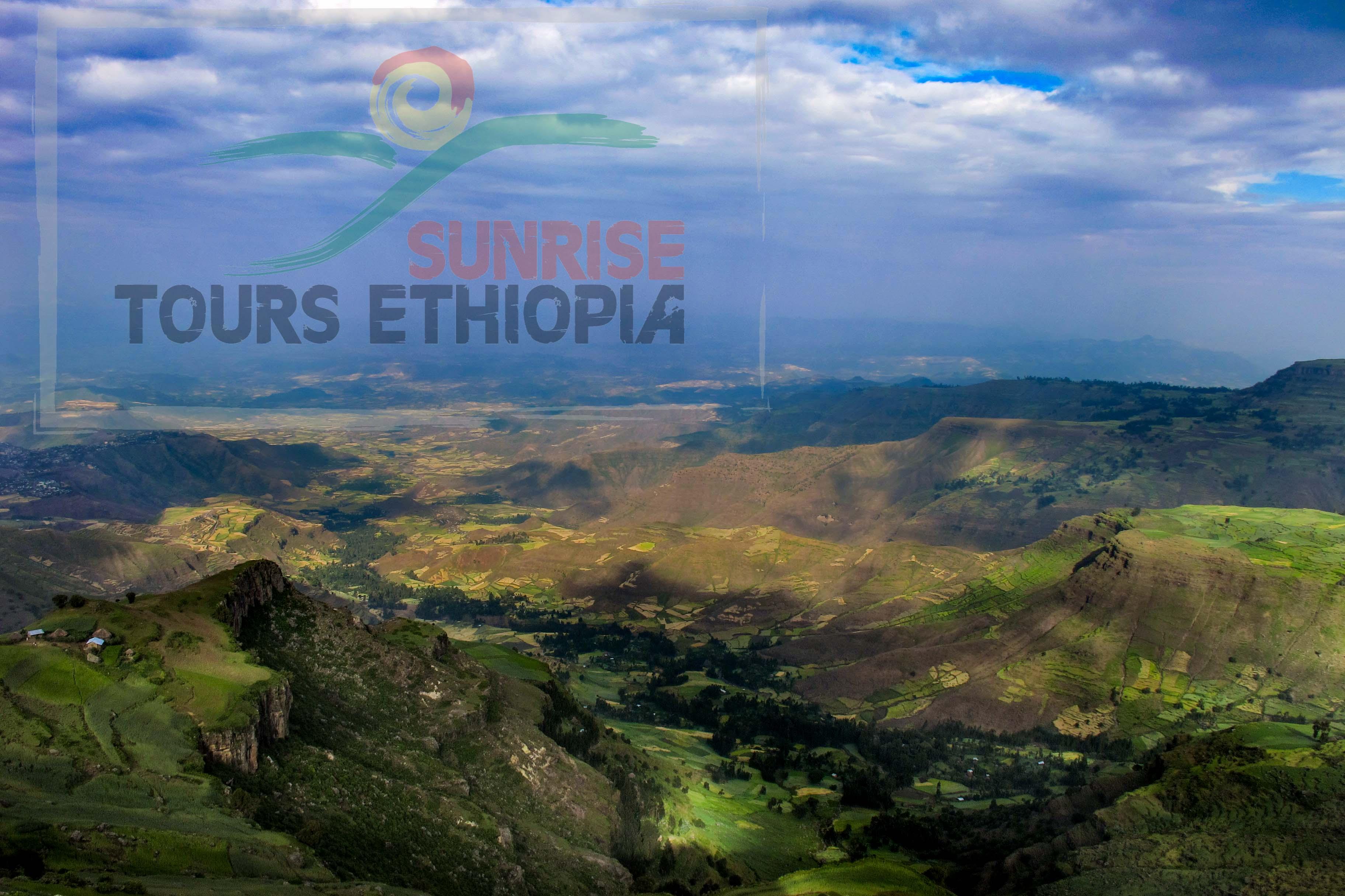 ETHIOPIA HIGHLAND LANDSCAPE