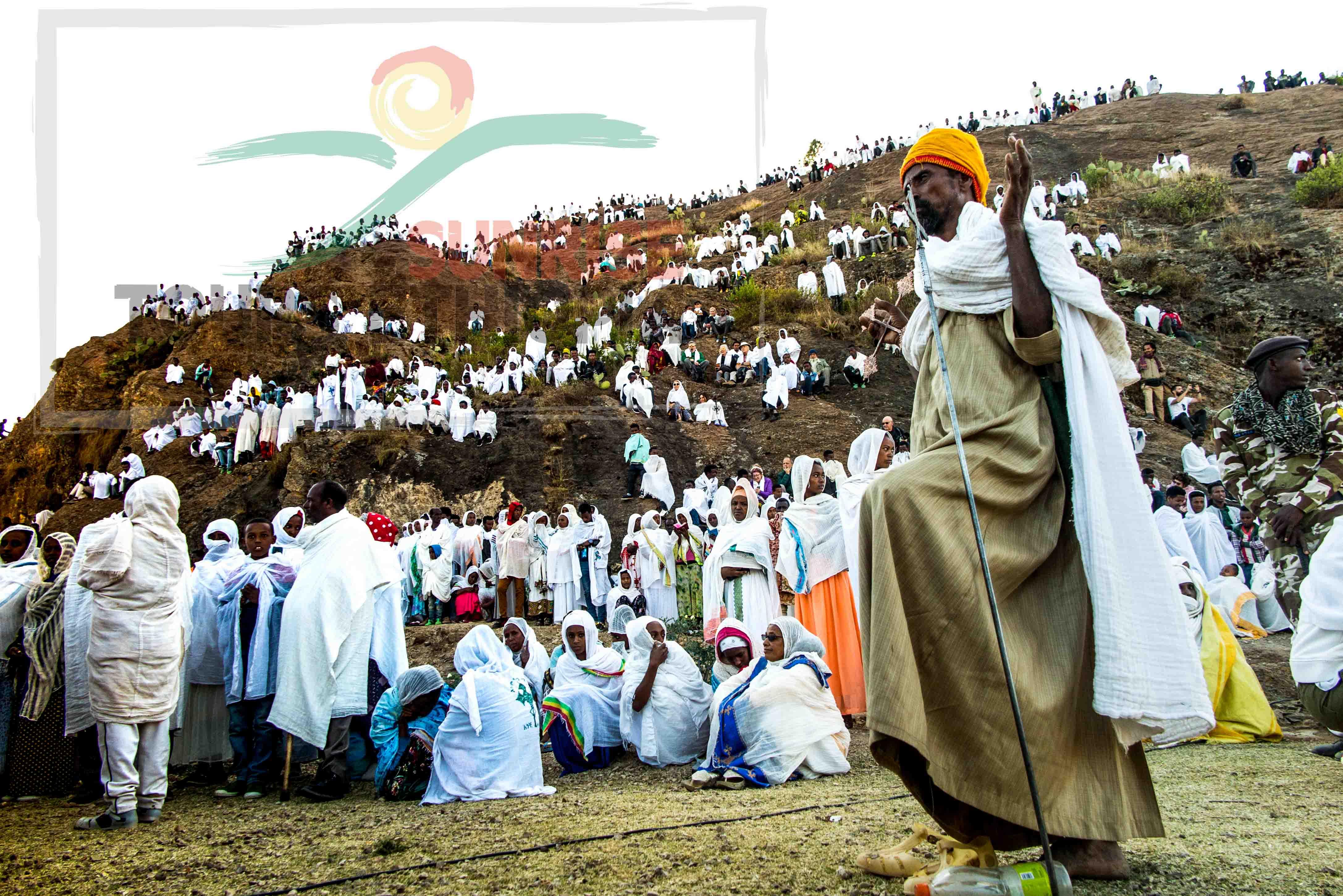 Timket in Aksum-ethiopia