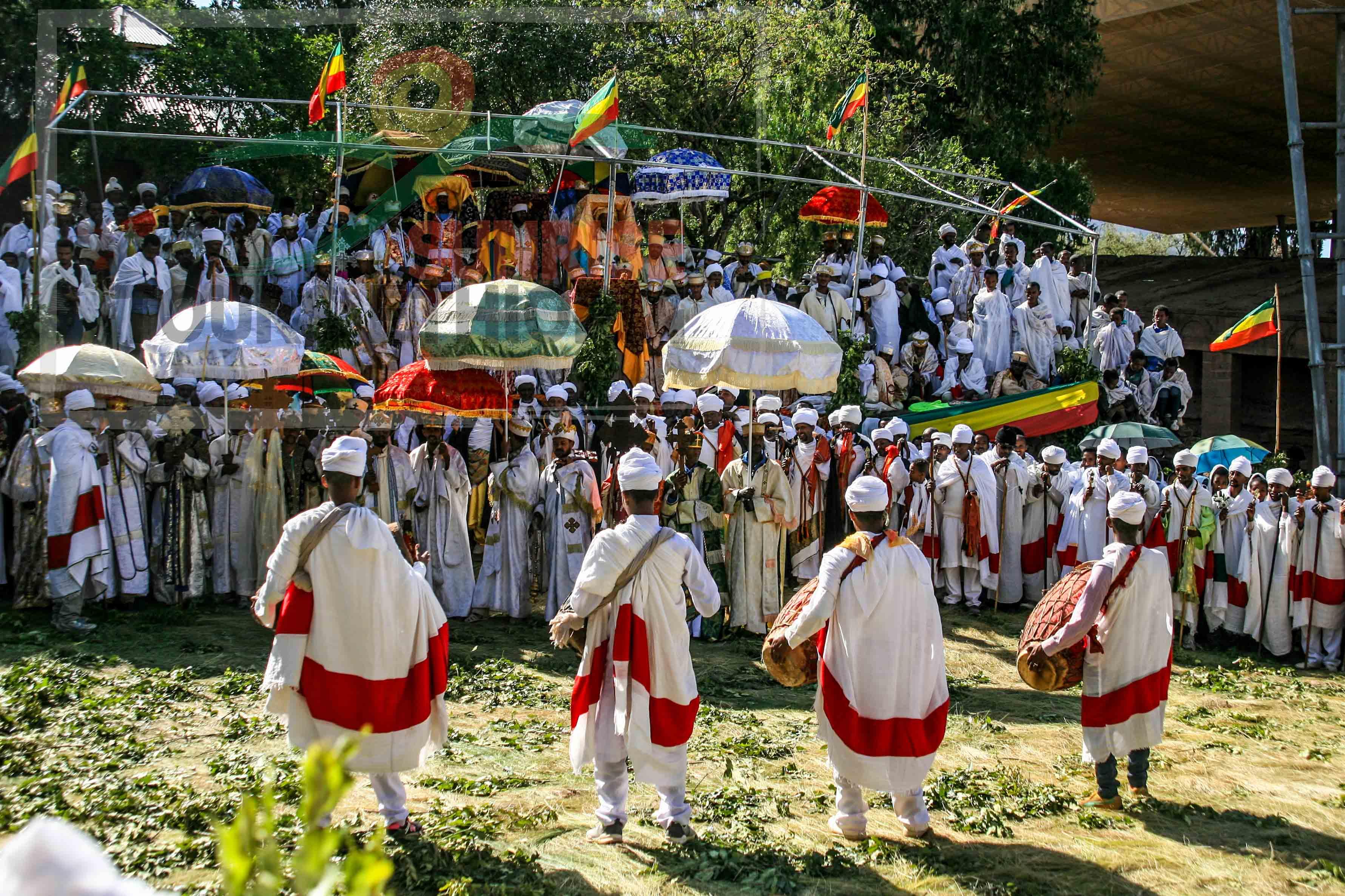 Lalibela timket festival ethiopia