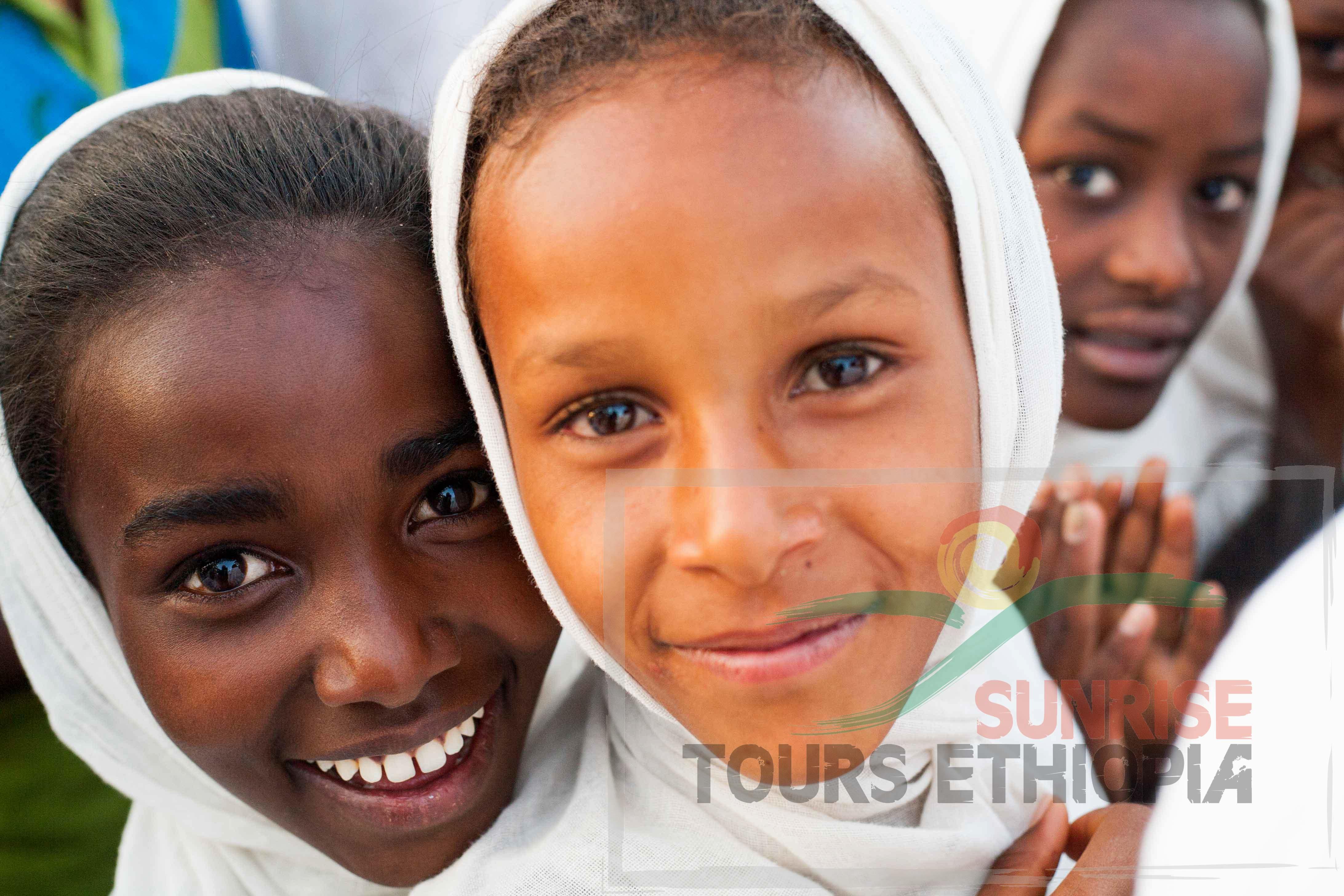 SMILING CHILDREN ZIWAY ETHIOPIA NETHELA ORTHODOX