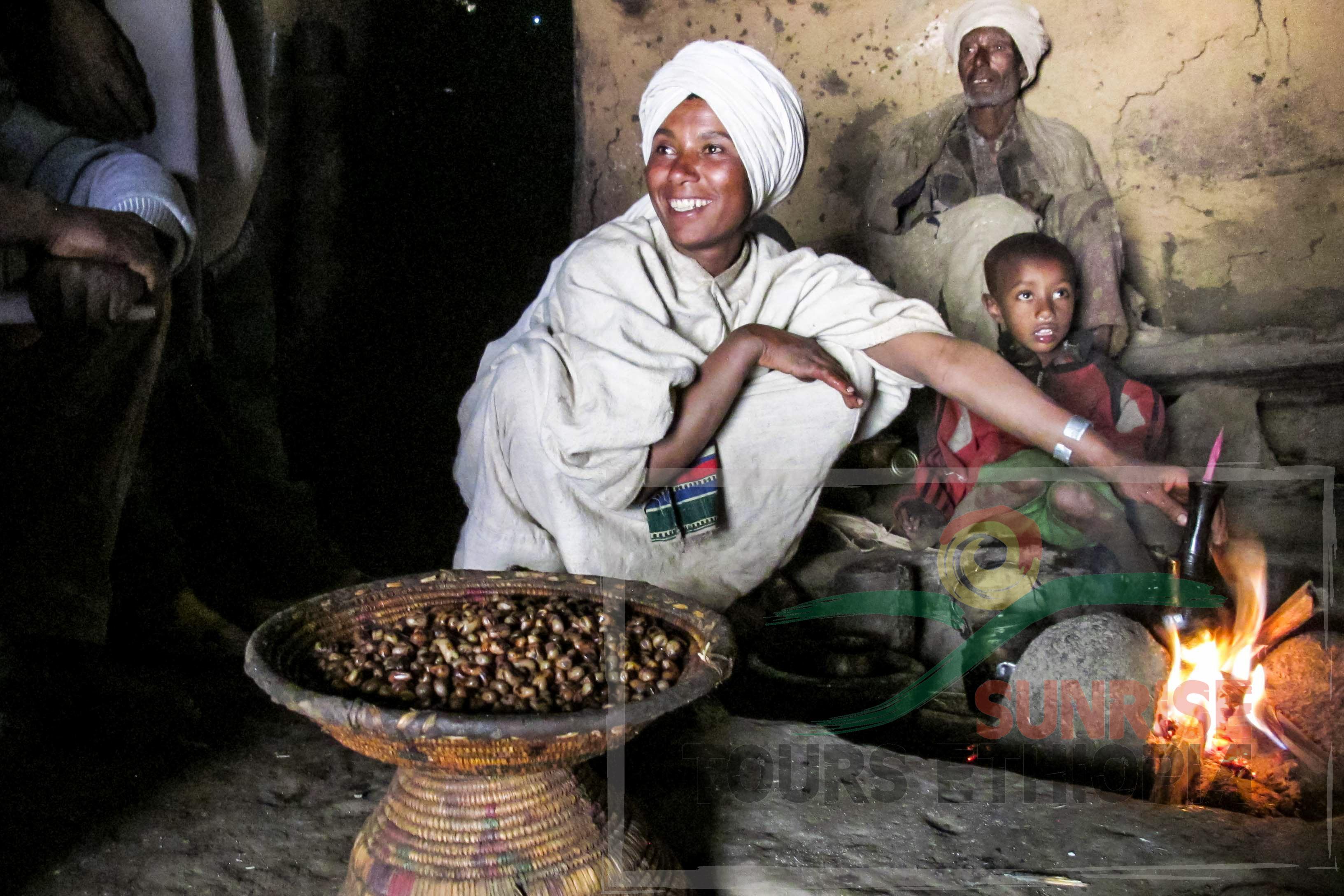 COFFEE CEREMONY ETHIOPIA CULTURE AMHARA SIMIEN PARC