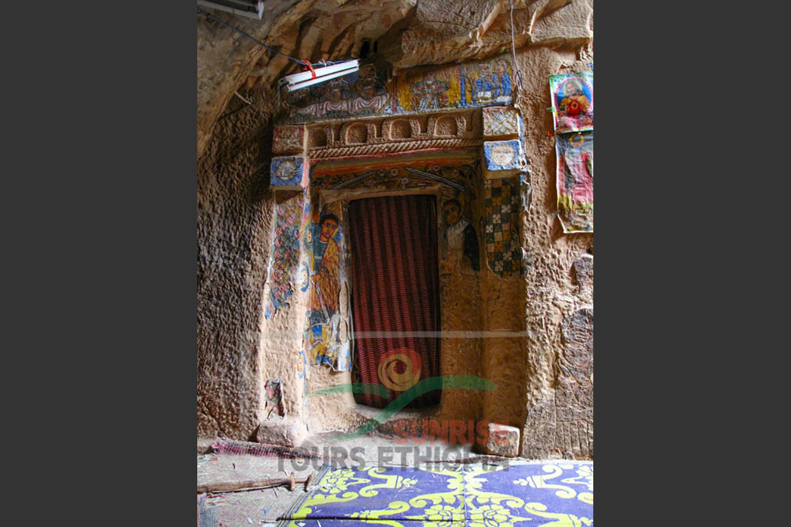 Gheralta Tigray rock hewn church door