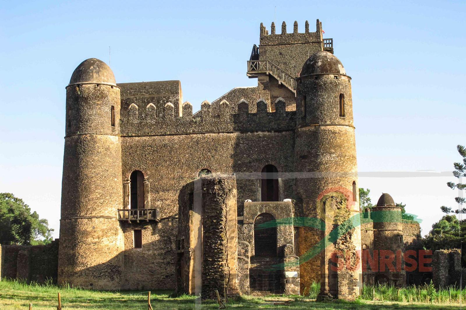 Fassilidas castle gondar ethiopia