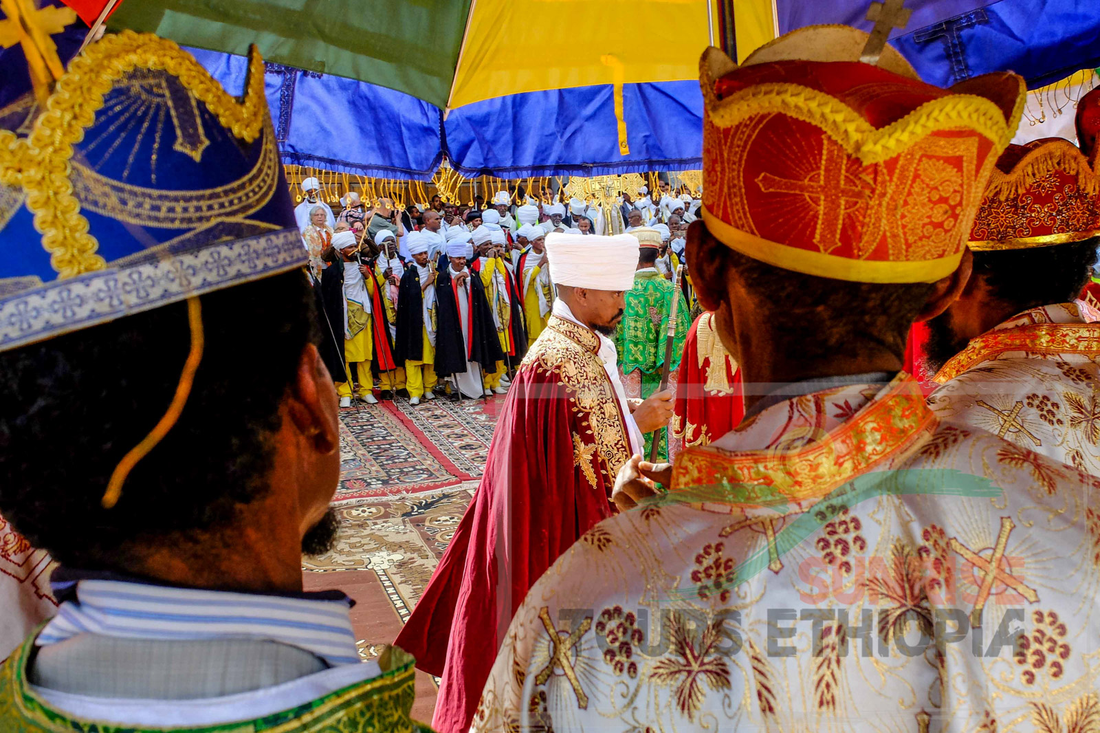 HOSAINA CELEBRATION AKSUM ETHIOPIA MORNING