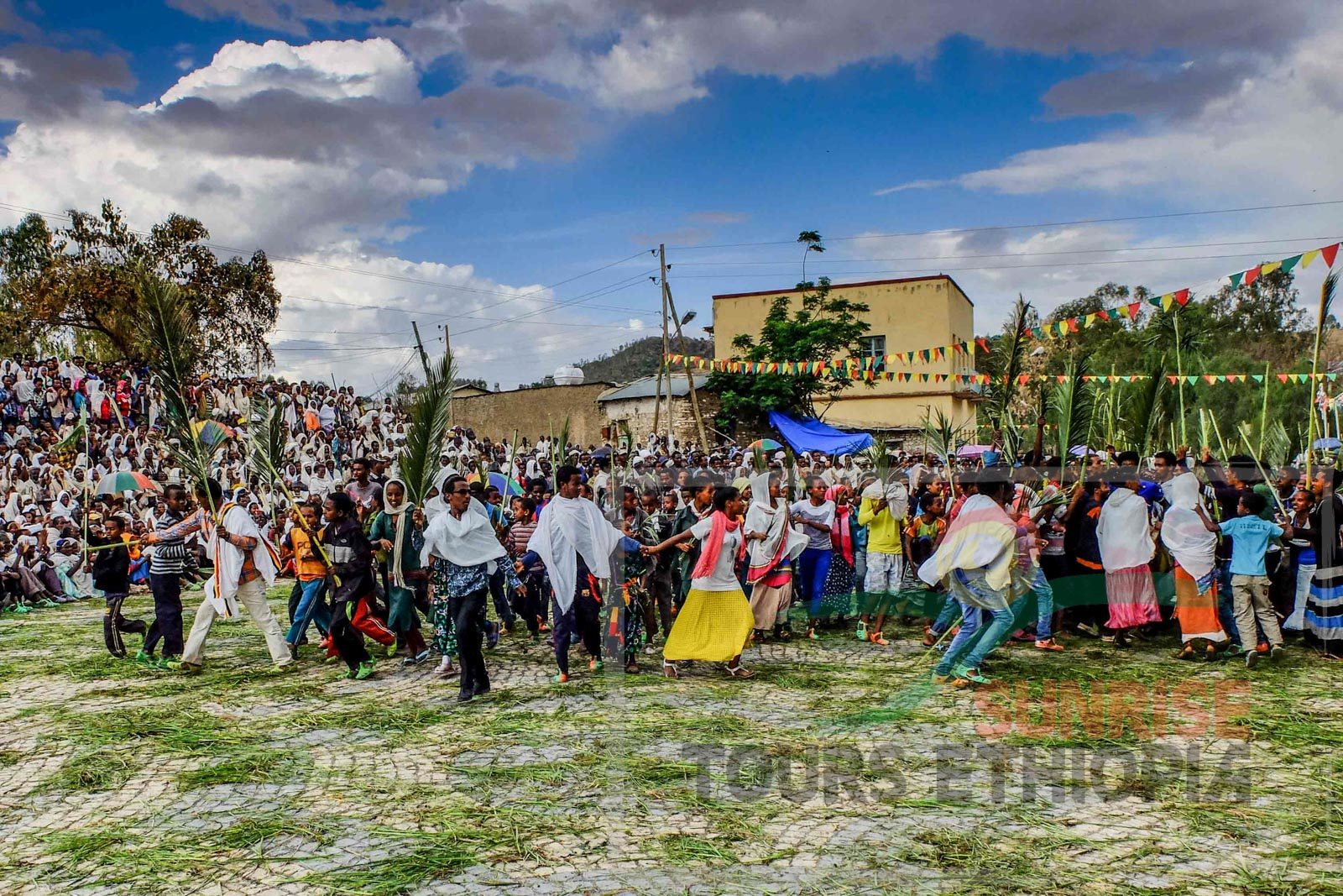 HOSAINA CELEBRATION AKSUM ETHIOPIA ORTHODOX CHURCH