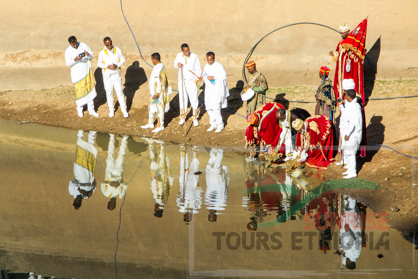 Aksum Timket celebration Ethiopia baptism