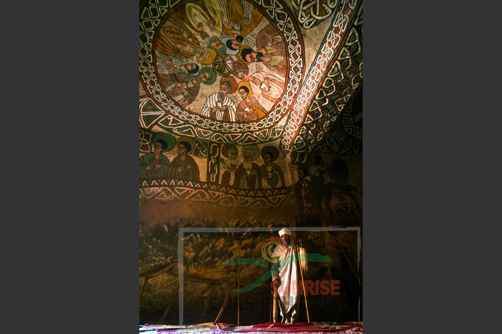 abuna yemata church paintings gheralta tigray rock hewn church