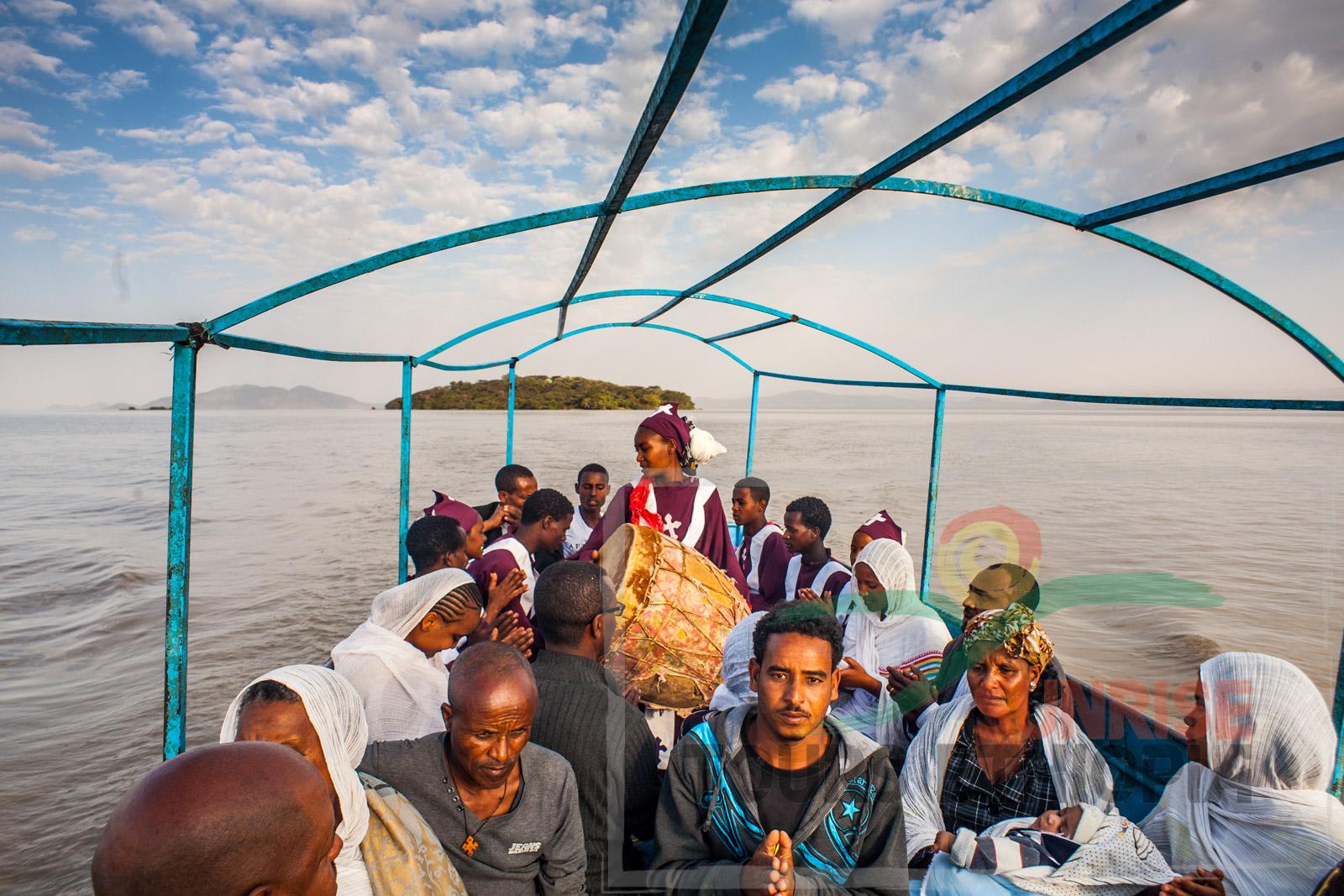 Ziway timket boat procession ethiopia orthodox