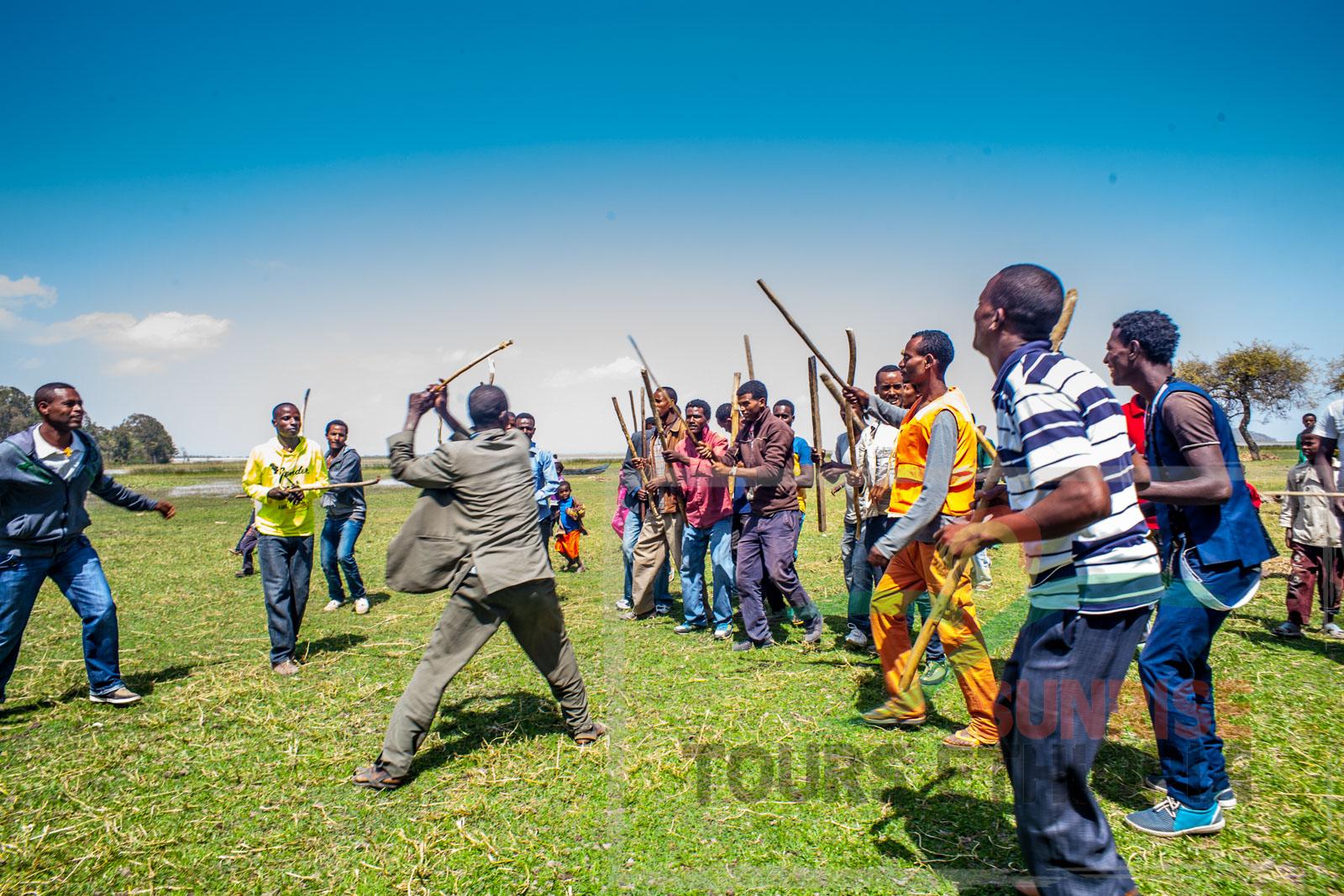 Timket stick dance ziway ethiopia