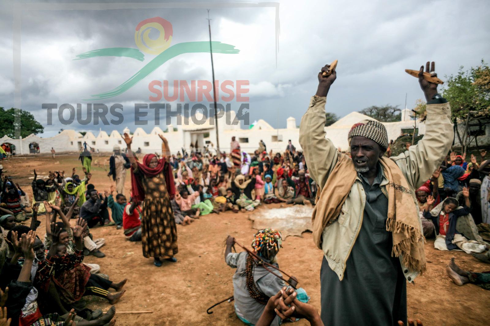 SHEICK HUSSEIN CELEBRATION ETHIOPIA SUFI MUSLIM