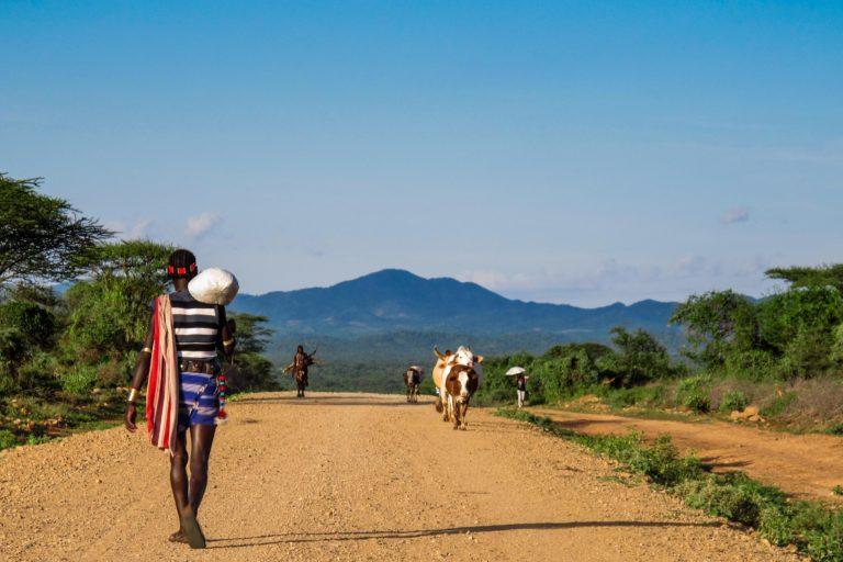 HAMER trekking OMO TRIBE ETHIOPIA